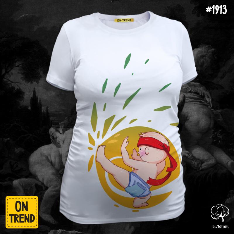 Картинка для печати на футболке беременной