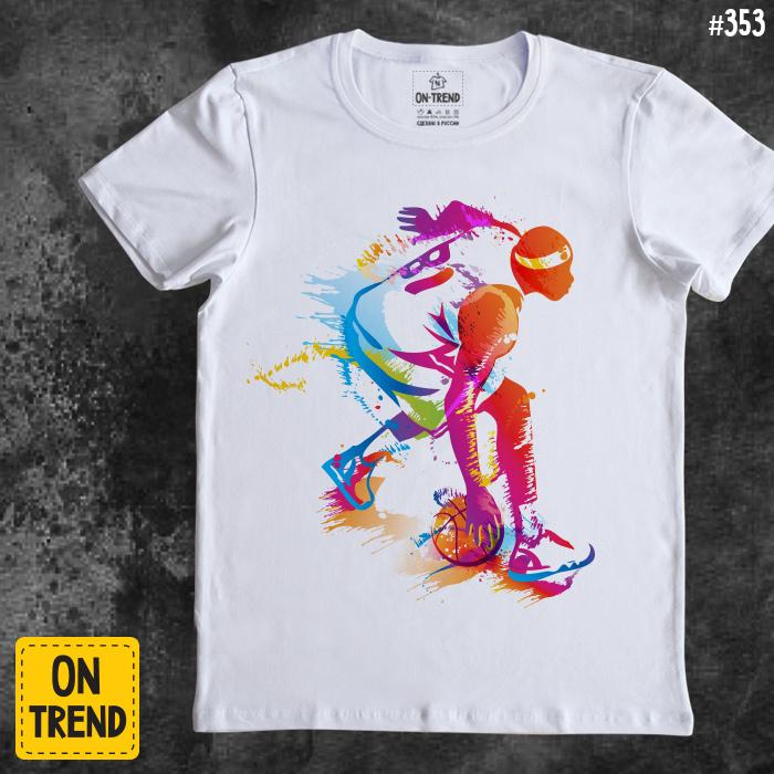 "2acf6012 картинка Мужская футболка ""Баскетбол"" ..."